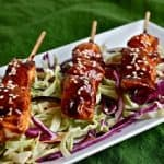 Appetizers Part II – Asian BBQ Chicken Skewers