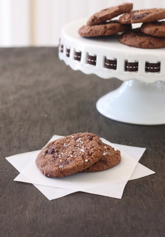 Post image for Chocolate Fleur de Sel Cookies – A Cookie for Grown-ups