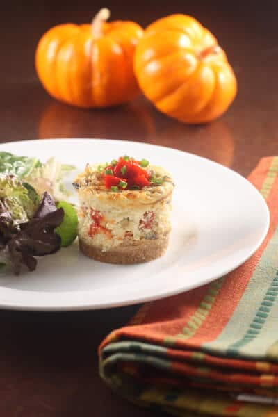 Post image for Reading Food Blogs Can Be Dangerous to Your Health – Crab and Mushroom Cheesecakes