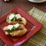 Appetizers Part Three – Artichoke, Roast Beef and Parmesan Bruschetta