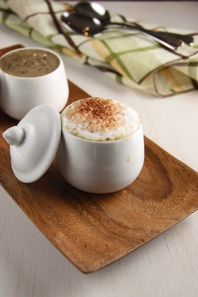 Mushroom Cappucino Soup