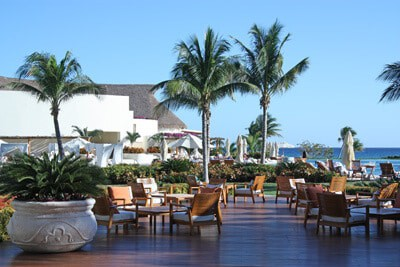 Grand Velas Resort, Main Pool deck