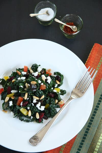 Post image for Kale Salad with Dates, Pine Nuts and Feta.. and a Giveaway!