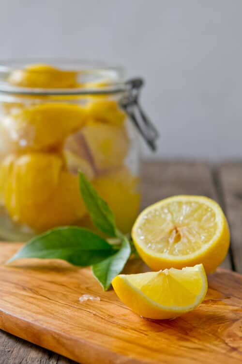 How to make preserved lemons - a middle eastern staple ingredient
