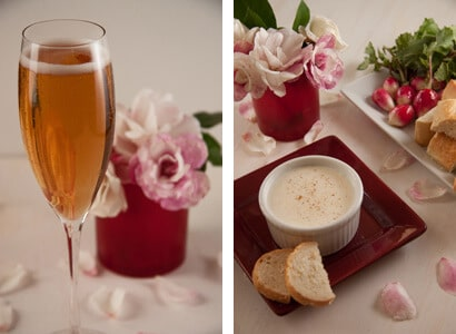 Valnetine Double image Champagne Fondue   the Perfect Valentines Day Dish