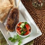Turkey Kibbe Kebabs