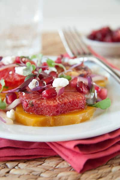 Post image for Blood Orange, Beet and Goat Cheese Salad