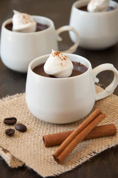 Mexican Chocolate Pots de Creme are subtly spice with cinnamon and ...