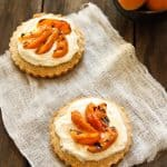 Almond Tart with Grilled Apricots