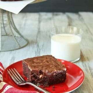 The ultimate chocolate frosted brownie dessert recipe- Texas Cake