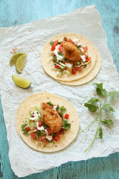 Post image for Baja Style Fish Tacos