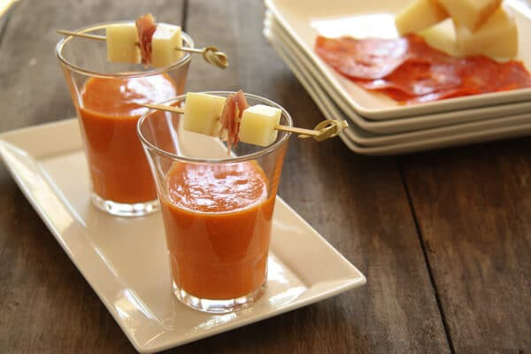 Spanish Gazpacho - A Communal Table