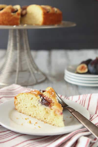 Post image for Fig Cake with Ginger Syrup