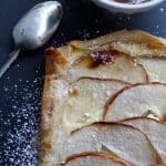 Pear Tart with Ginger and Vanilla