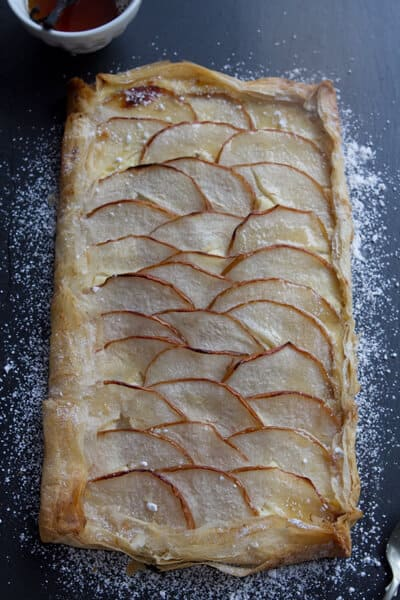 Asian Pear Tart BC3 Pear Tart with Ginger and Vanilla