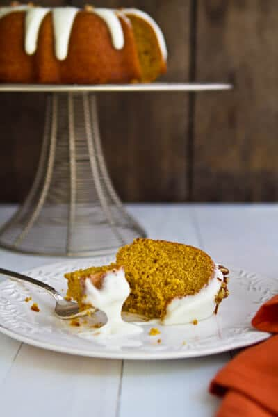 Bourbon Pumpkin Bundt Cake BC3 Bourbon Pumpkin Bundt Cake with Bourbon Cream Cheese Glaze