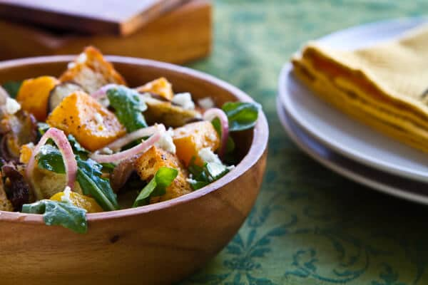 Post image for Butternut Panzanella Salad