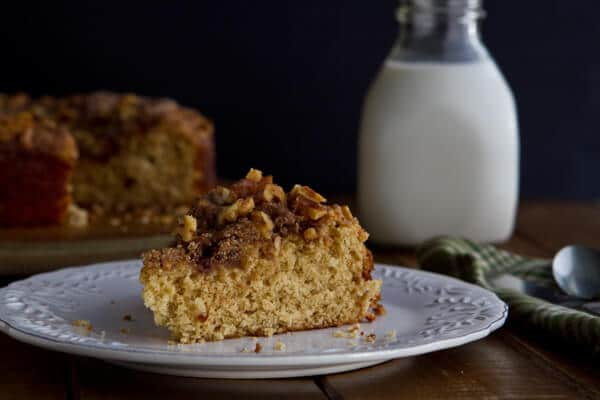 Brown Butter and Cardamon Coffee Cake