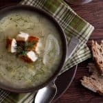 Fennel, Lemon and Farro Soup