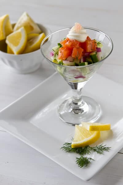 Post image for Salmon Gravlax Martini