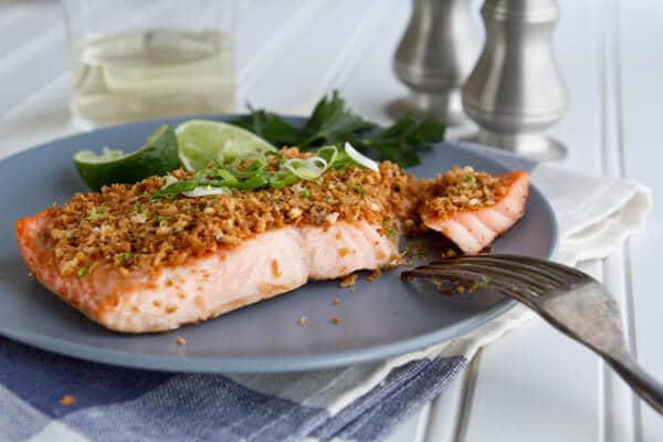 Asian Salmon with Panko and LimeBC21 Asian Salmon with Panko and Lime