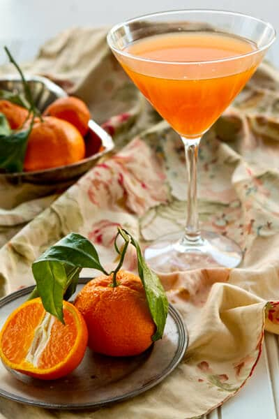 Post image for Tangerine Gimlet