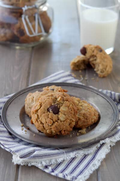 Post image for Almond Butter, Chocolate and Coconut Cookies and Kitchenaid