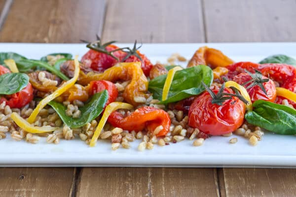 ... roasted pepper salad summer pea and roasted red pepper pasta salad
