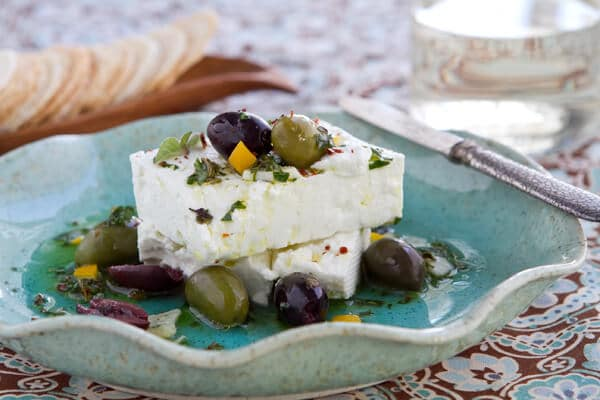 Post image for Marinated Feta