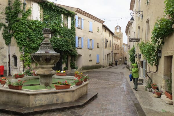 Sadly, it also rained one day in Provence.... but who cares when it's this charming!