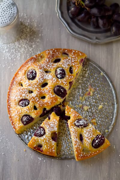 Post image for Grape Olive Oil Cake