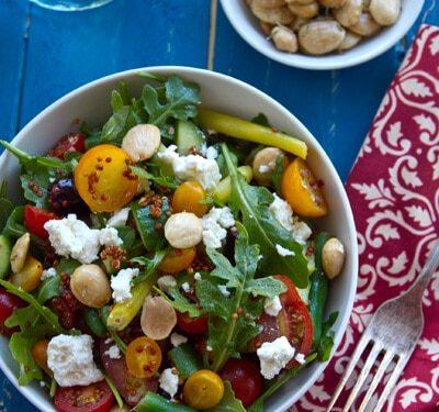 Mediterranean Quinoa Salad A Communal Table