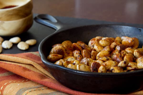 Post image for Pan Roasted Nuts and a visit with Nathan Turner