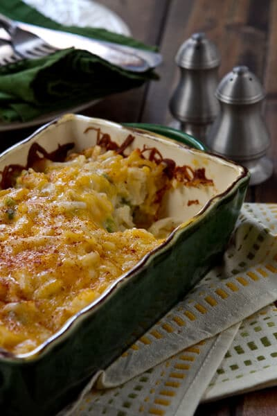 Easy, cheesy potato casserole