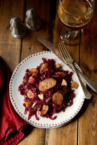 #cabbage, #sausage #onedishdinner