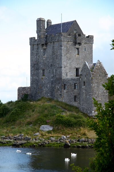 One of the many old castles in Ireland