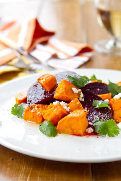 ... roasted beet and goat cheese salad roasted beet and sweet potato salad