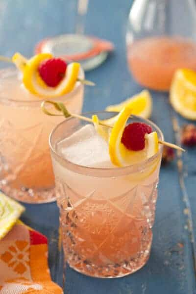 Sparkling Rosewater Lemonade - A Communal Table