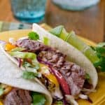 Michelada's aren't just for cocktails but make a great marinade - Michelada Marinated Steak Tacos