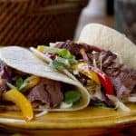 Michelada Marinated Steak Tacos