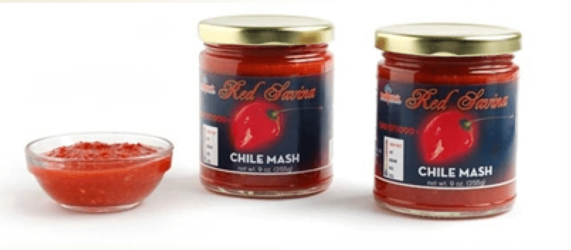 Red Savina Chile Mash
