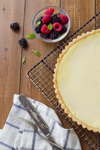 yogurt cheese tart