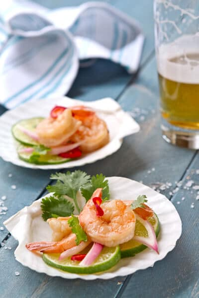Asian Pickled Shrimp