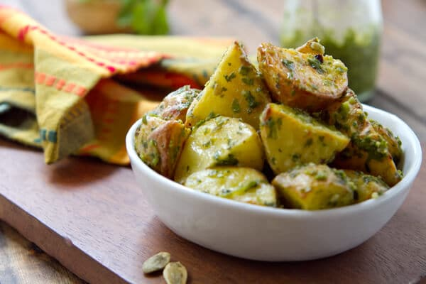Hatch Chile Pesto BC1 Hatch Chile Pesto Potatoes