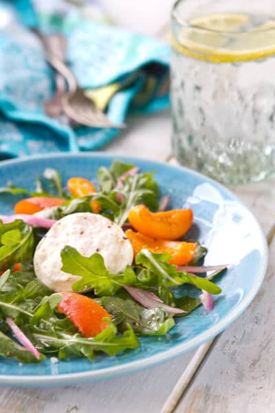 Pickled Apricot and Arugula Salad Apricot and Arugula Salad