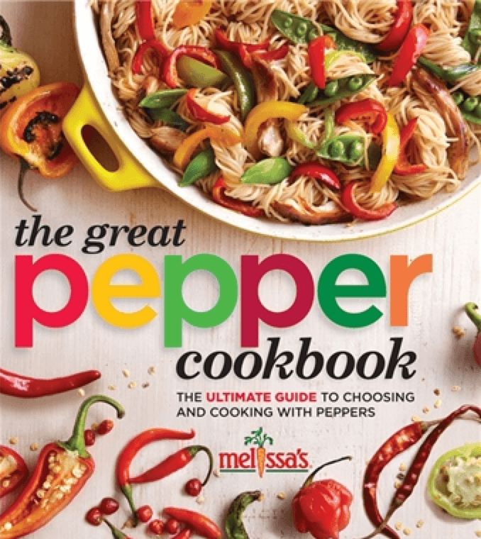 the great pepper cookbook by melissas produce