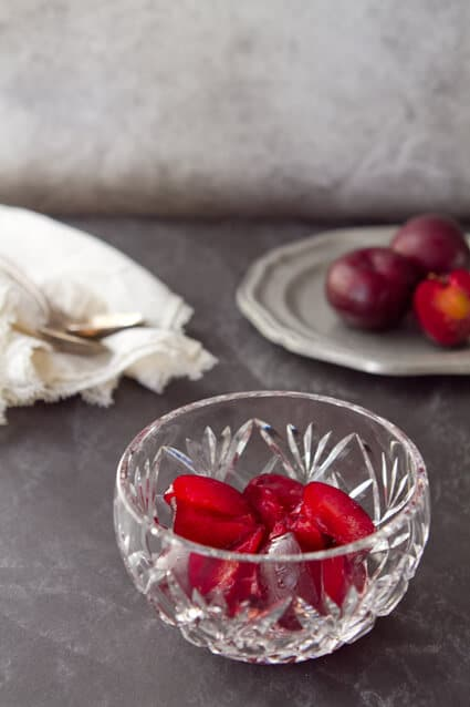 Plumcot Tipsy Trifle