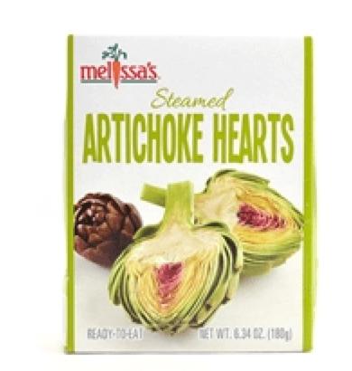 Melissa's Steamed artichokes