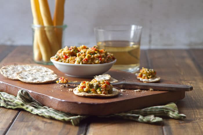 Artichoke and Roasted Red Pepper Tapenade