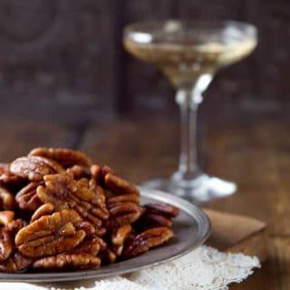 Bourbon Maple Pecans